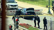 Capitol Police officer killed by knife-wielding suspect who rammed into barricade