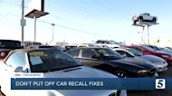 Consumer Reports: Don't put off car recall fixes
