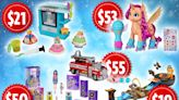 Toys 'R' Us and Macy's reveal top holiday toys including Hot Wheels playset