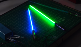 This Video Shows You How to Make Brilliant Fluorescent Lightsabers for Your Star Wars Action Figures