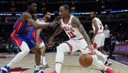 Chicago Bulls player grades from Saturday night's victory over Pistons