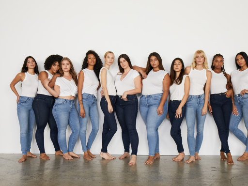 FRAME's new 'one-size-fits-six' jeans make 'The Sisterhood of the Traveling Pants' a reality