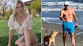 Paige Spiranac dubs Greg Norman 'hammerhead shark' after bulging beach photo