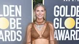 Gwyneth Paltrow Goes for Bold in a See-Through Gown at the Golden Globes