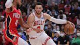 Report: Bulls star Zach LaVine intends to play through thumb injury