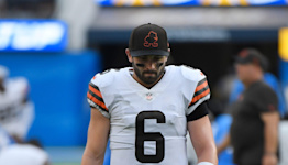 Browns QB Baker Mayfield says playing Steelers is 'absolutely' a possibility despite injured shoulder