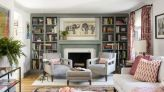 After 25 years in their home, a Wakefield couple decides it's time to get the living room layout right - The Boston Globe