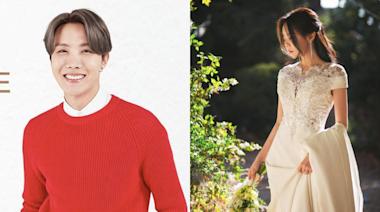 J-HOPE出席姐姐婚禮,白金髮宛若王子!BTS防彈少年團都來了~♥