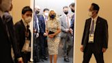 Jill Biden's Brandon Maxwell outfit wows at Tokyo Olympics Opening Ceremony