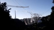 Footage Shows the Moment of Receiver Collapse at Arecibo Observatory