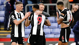 Fine Callum Wilson goal forces draw for managerless Newcastle at Crystal Palace