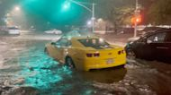 Brooklyn Streets Submerged as New York Hit by Severe Floods