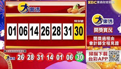 10/12 大樂透、雙贏彩、今彩539開獎!還有加碼百萬紅包等你拿