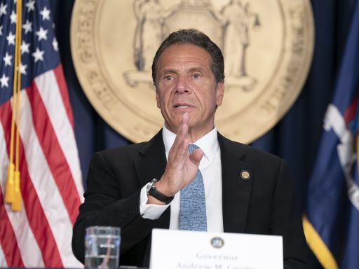 """NY Gov. Andrew Cuomo Outlines State Emergency Plans In Midst Of Holiday Spike (""""Covid Is The Grinch"""") As..."""