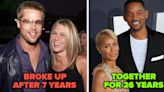 22 Famous Couples Who Unfortunately Didn't Make It, And 22 Who Are Still Going Strong After All This Time