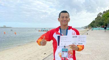 【馬拉松游泳】18歲方胤膺東奧資格賽亞洲第1 香港奪第43張入場券