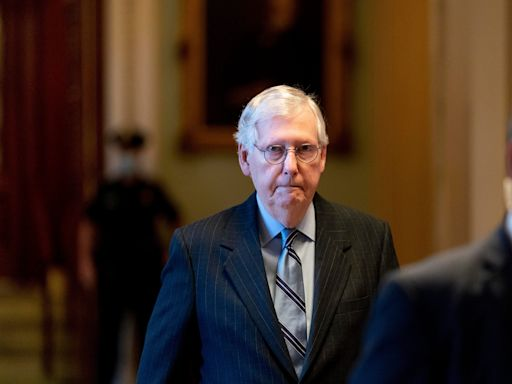 Mitch McConnell says the GOP will vote for the US to default on its debt