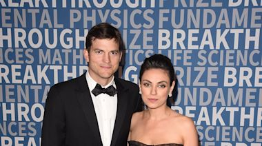 Ashton Kutcher and Mila Kunis Just Had the Most Adorable Kitchen Concert With Their Kids