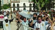 Buenos Aires bids farewell to Maradona