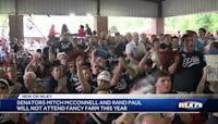 Mitch McConnell, Rand Paul not attending Fancy Farm picnic due to infrastructure talks