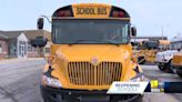 BCPS prepares buses ahead of students returning for in-person learning