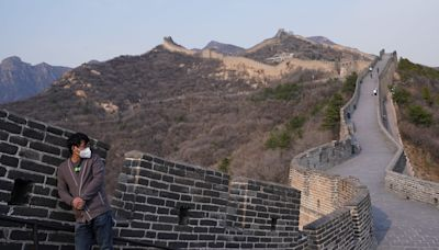Section of Great Wall of China reopens after coronavirus-related closure