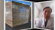 旅日台灣醫生王輝生 募40萬片口罩捐日本
