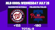 Betting: Nationals vs. Phillies   July 28