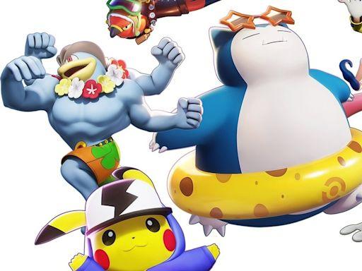 《寶可夢大集結 Pokémon UNITE》今日搶先於 Switch 平台開放免費遊玩