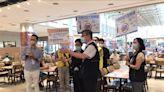 迎接降級首週末 中市府持續查核百貨賣場美食街防疫 | 蕃新聞