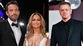 Jennifer Lopez, Ben Affleck and Matt Damon Are All Smiles in Stunning Group Venice Pics