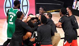 Toronto Raptors avoid shutout against Boston Celtics with buzzer beater