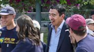 Andrew Yang Touts Basic Income at Mountain View Rally