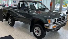 1993 Toyota Truck with just 84 miles is up for auction