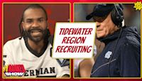 Mack Brown explains the importance of recruiting the Tidewater Region