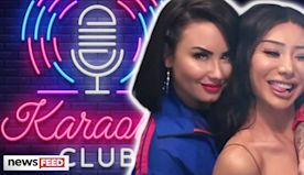 Demi Lovato Sings Ariana Grande Karaoke With Nikita Dragun!