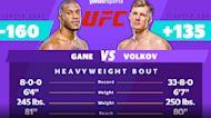 UFC Fight Night: Gane vs. Volkov Best Bets