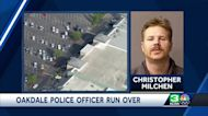 Authorities arrest man suspected of running over Oakdale police officer