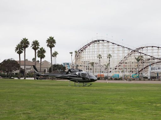 San Diego Police Attempt to Talk Down Man Threatening to Jump From Roller Coaster
