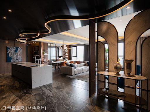 當代工藝美學 建構通透雋朗大宅