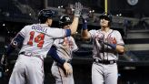 Braves power to win over Diamondbacks, maintain NL East lead