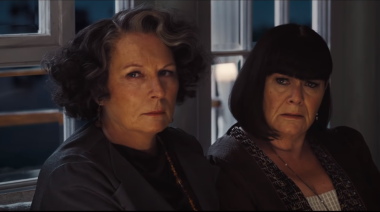 """Dawn French says Death on the Nile was """"brave"""" to cast her and Jennifer Saunders"""
