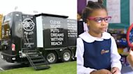 Pearle Vision is traveling across the country on wheels for kids in need of eye care