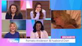 Pamela Anderson's Loose Women interview labelled 'peak 2021 energy' as star stays in bed