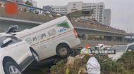 瞬間遭水吞噬! 鄭州京廣路隧道淹沒前畫面曝光