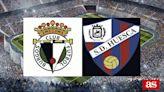 Burgos CF vs Huesca: estadísticas previas y datos en directo