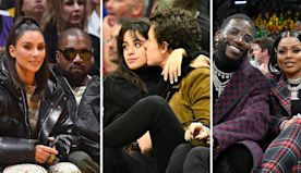 15 Celebrity Couples Getting Close on the Court   101.5 The River