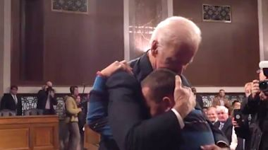 Resurfaced Clip Of Biden Comforting Parkland Families Has People In Tears