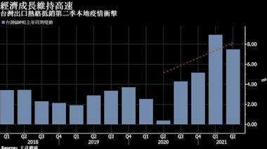台灣第二季GDP保持高增速且優於預期 出口及投資持續挺經濟