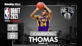 Brooklyn Nets draft LSU's Cameron Thomas with 27th overall pick